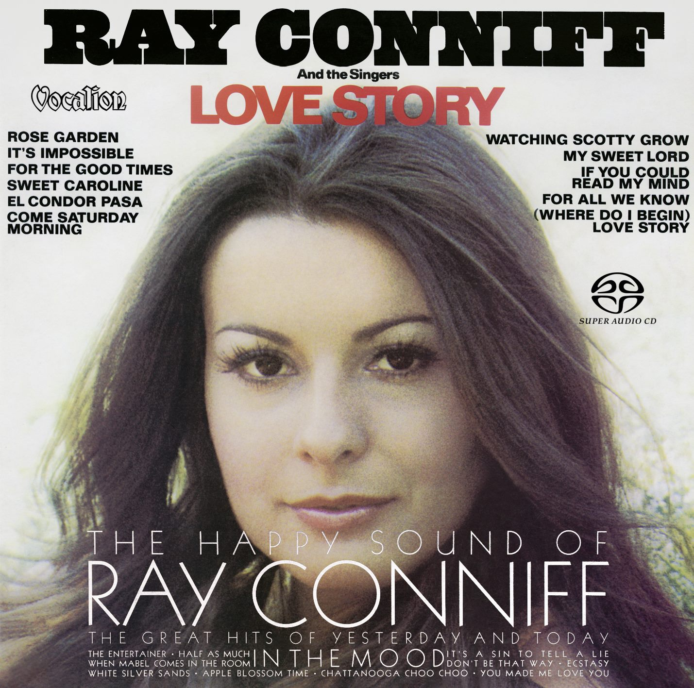 new Ray Conniff SACD: The Happy Sound & Love Story
