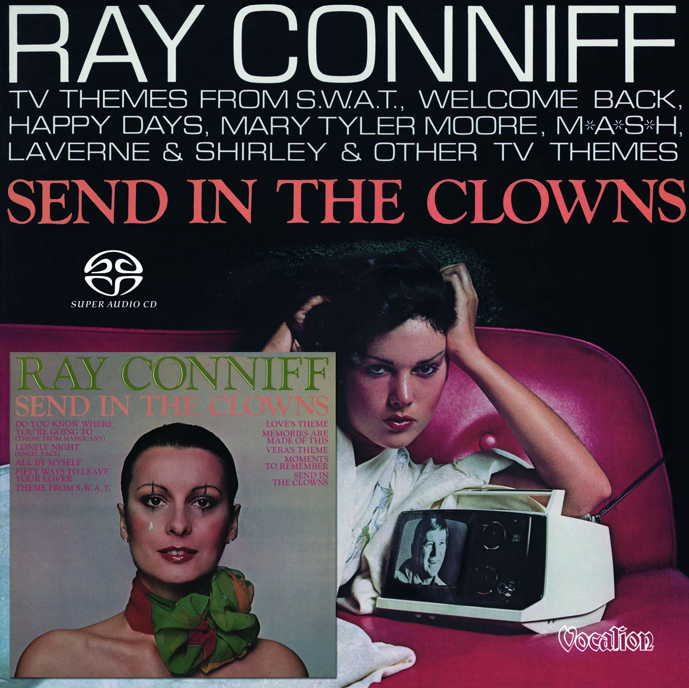 new Ray Conniff SACD: TV Themes & Send In The Clowns